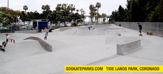 Coronado Tide Lands Skateparks