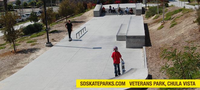 san diego skateparks veterans park