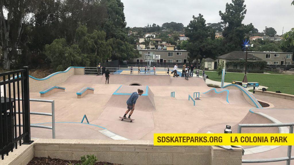 La Colonia Skate Park in Solana Beach