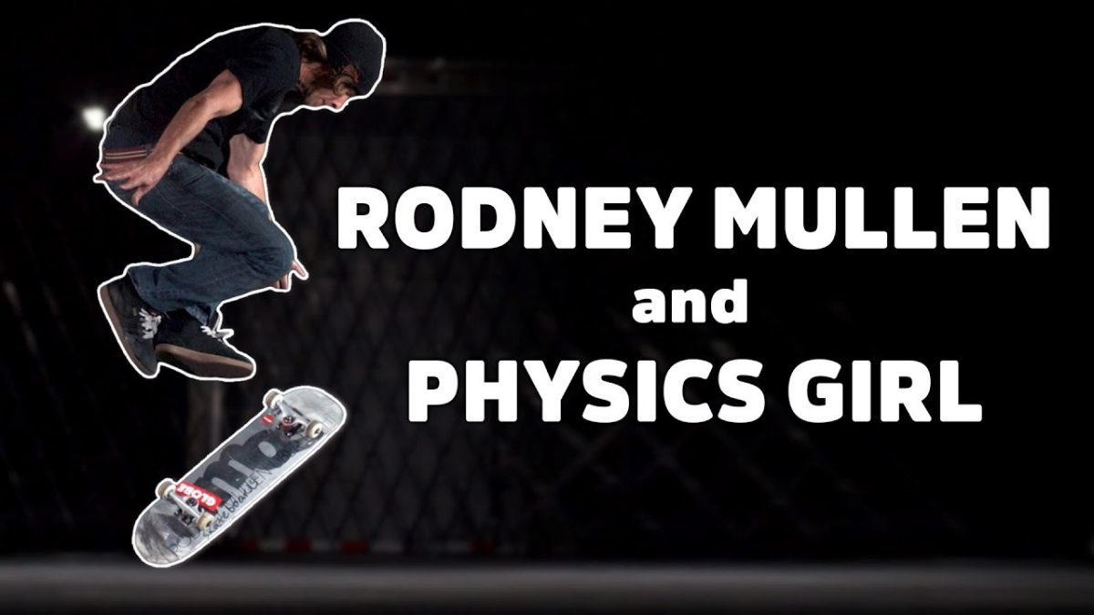 The Science behind Rodney Mullens tricks