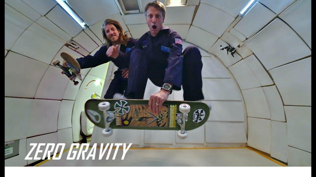 Skateboarding In Zero G