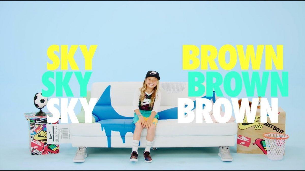 Skateboarding phenom Sky Brown